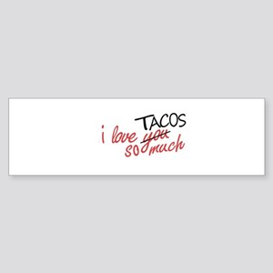 i love you so much [AUSTIN VER.] Bumper Sticker